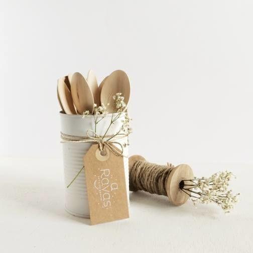 Detalles hand-made muy naturales para bodas y otros eventos especiales