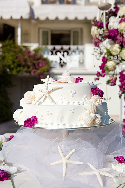 Hotel Il Negresco wedding set up