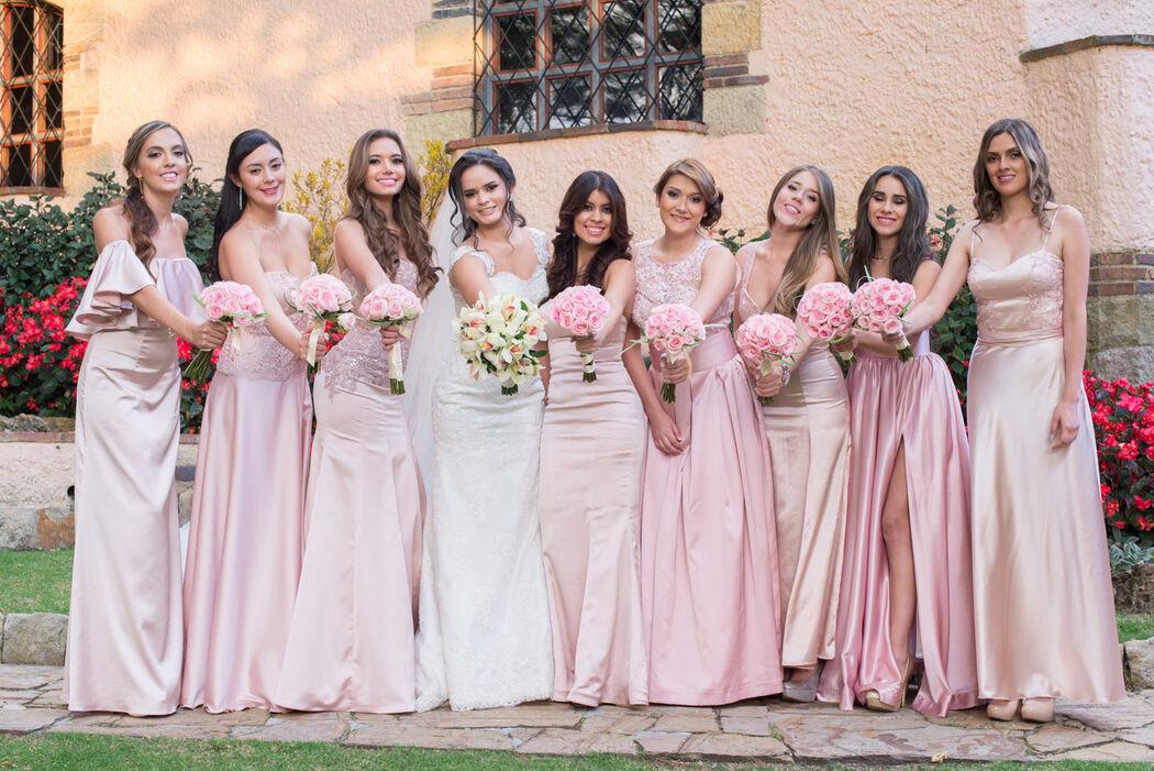 Las damas de honor  Club el Nogal Bogotá