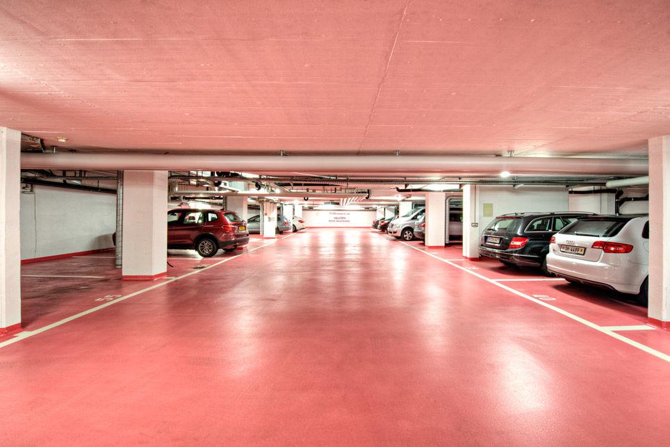 Beispiel: Garage, Foto: Hotel Chlosterhof.