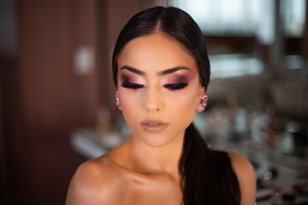 Michele Parente maquiagem