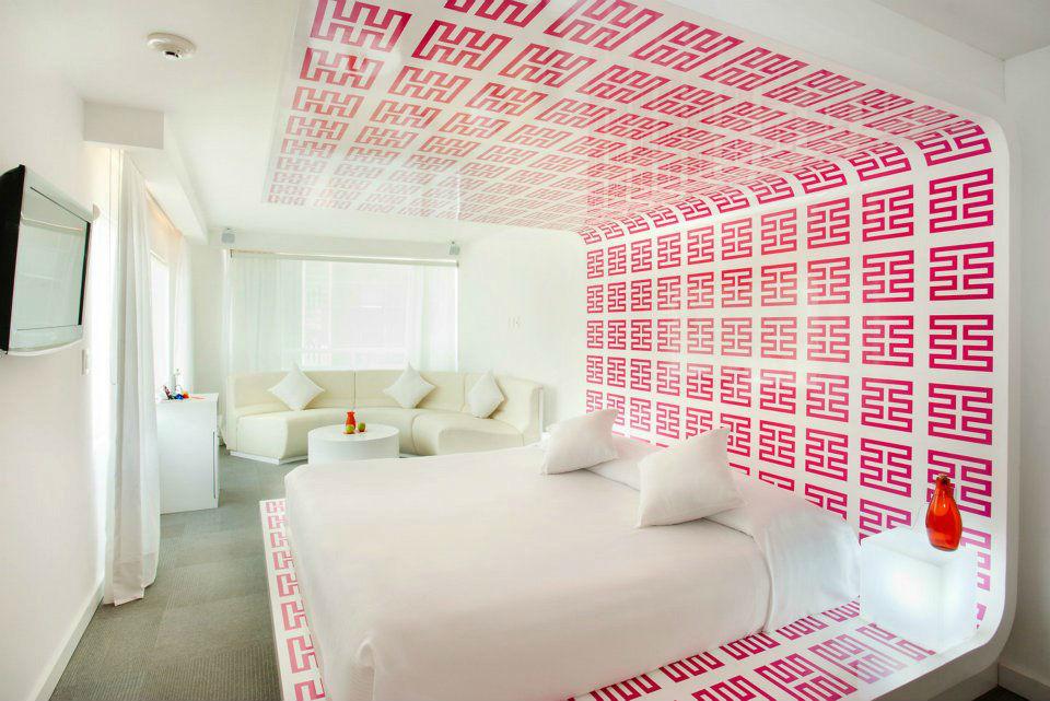 Hotel Room Mate Valentina en la Ciudad de México.