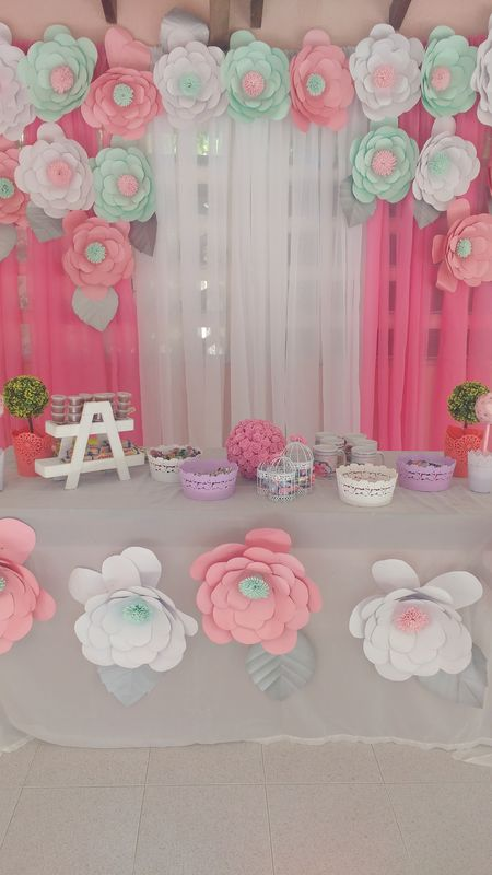 panel de flores