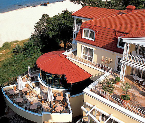 Beispiel: Ausblick von der Penthousesuite, Foto: Travel Charme Strandhotel Bansin.