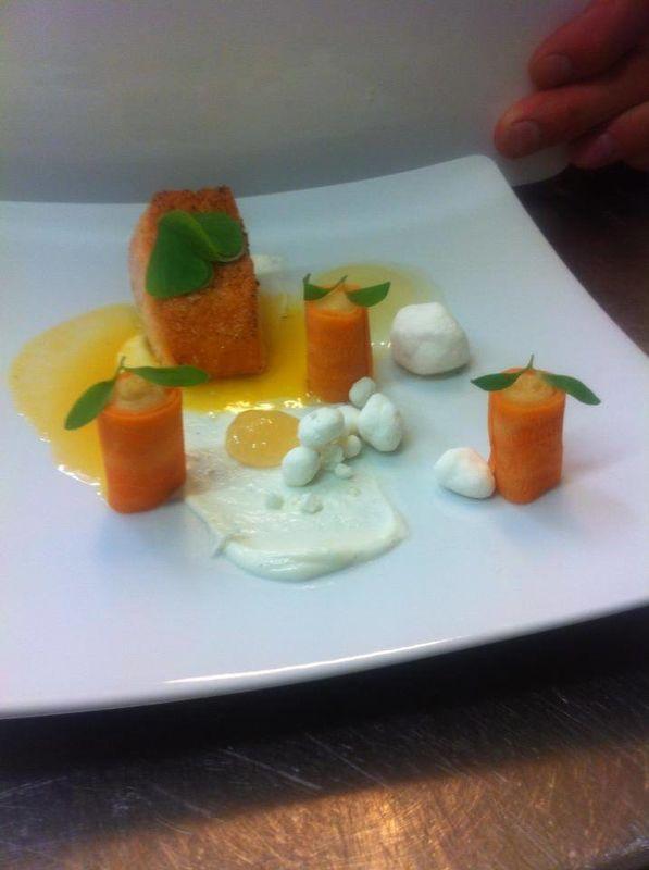 Beispiel: Kulinarische Impressionen, Foto: Trüffelschwein.