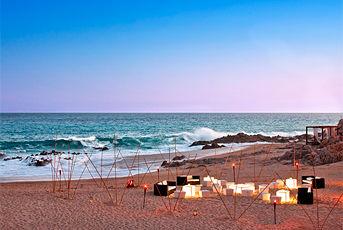 Bodas en The Westin Resort & Spa, Los Cabos  Cocteles de Bienvenida en Playa Sunset