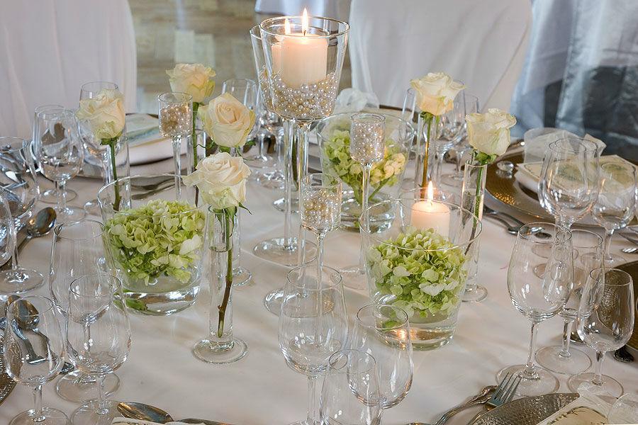 Beispiel: Hochzeitsgedeck, Foto: Sonne Romantik Seehotel.