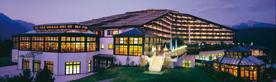 Beispiel: Außenansicht, Foto: Interalpen Hotel.
