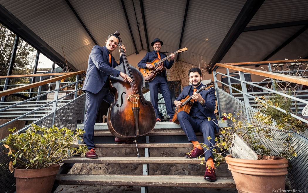 Trio jazz manouche http://www.jazz-manouche.clementreboul.com/