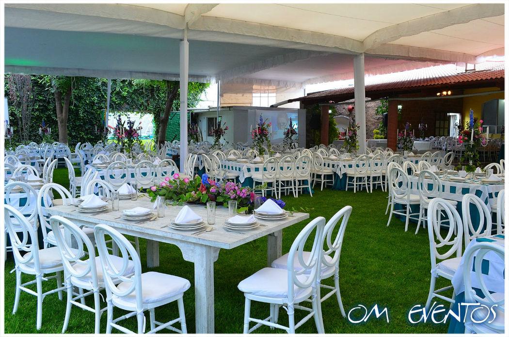 Terraza Jardín Mirage Capacidad Max. 300 Ps