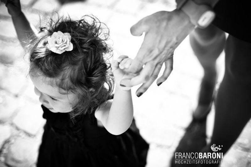 Beispiel: Portrait der Hochzeitsgäste, Foto: Franco Baroni.