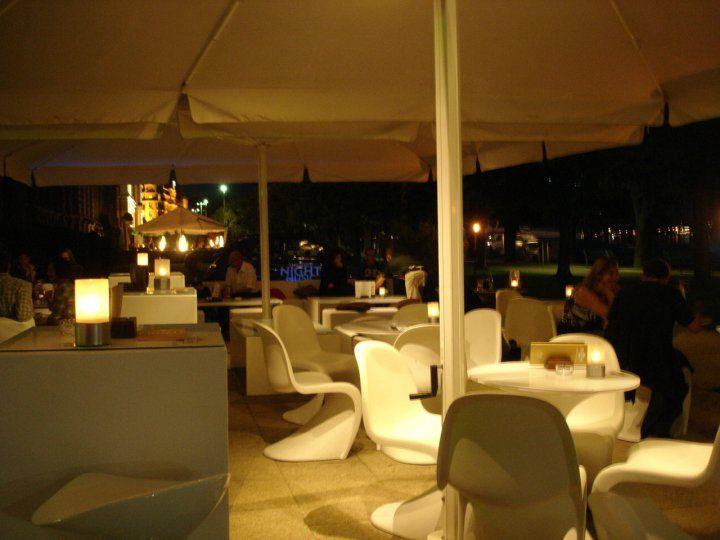 Beispiel: Terrasse bei Nacht, Foto: Restaurant 1871.