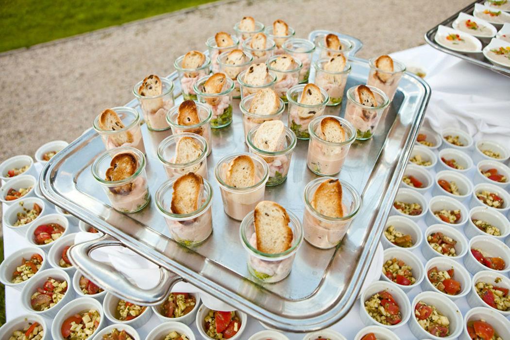 Beispiel: Catering, Foto: Hotel Villa Post.