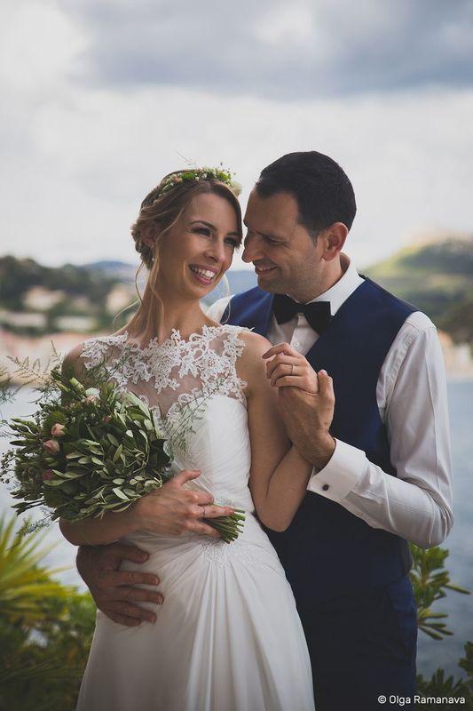 Photo de mariage, France, Cassis