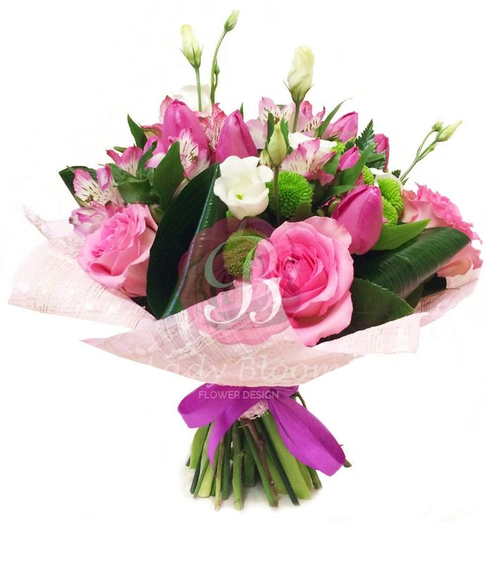 Lady Bloom Flower Design