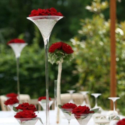 Beispiel: Dekoration Ihrer Hochzeit, Foto: AZ- Floristik und Dekoration.