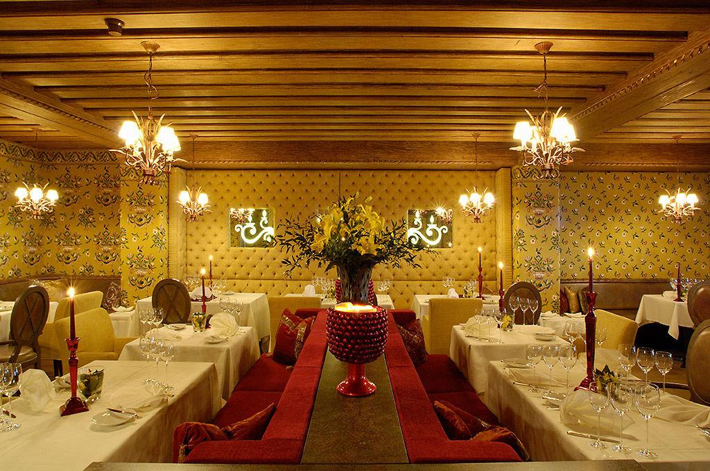 Beispiel: Festliches Ambiente, Foto: Tschuggen Grand Hotel Arosa.