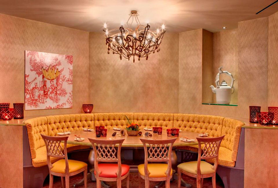 Beispiel: Restaurant, Foto: Tschuggen Grand Hotel Arosa.