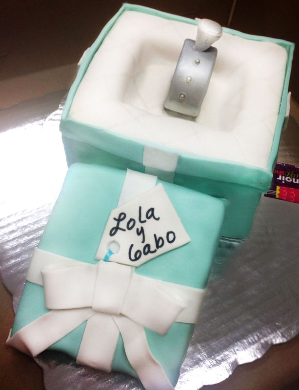 Pastel anillo tiffany