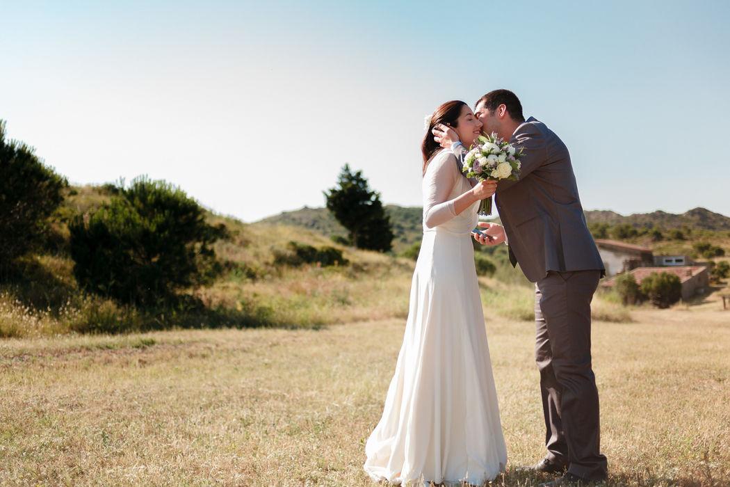 Cadaques, Vestido Cortana Brides