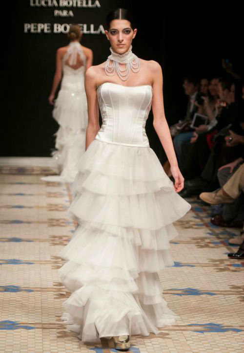 Vestido de novia - Foto Pepe Botella