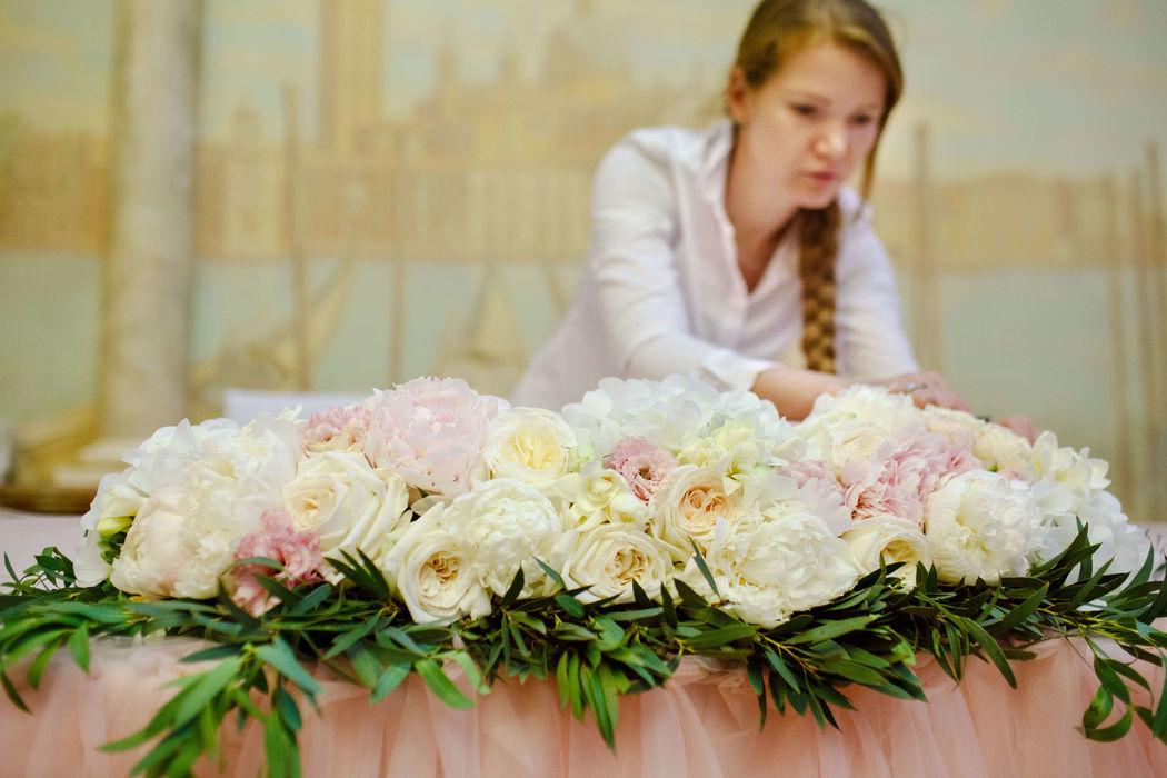 Свадебный флорист и декоратор Юлия Перовская