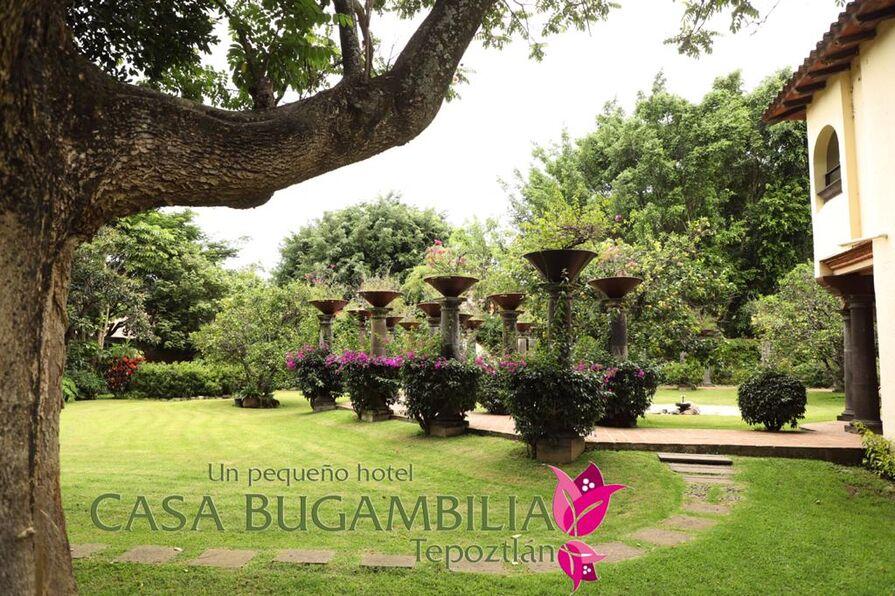 Hotel en Tepoztlan Casa Bugambilia