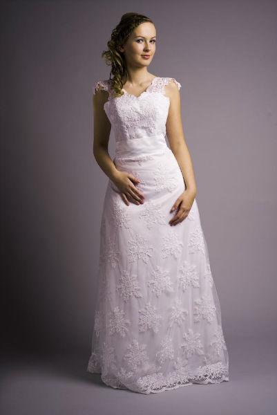 Suknia ślubna z pracowni Amelia