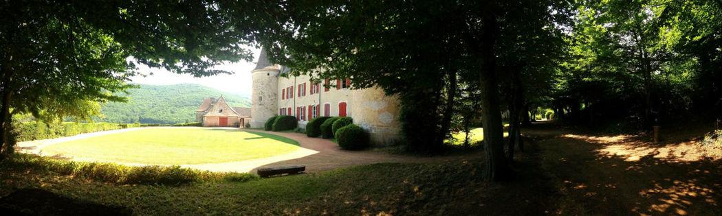 Le château de Varennes, terrasse panoramique