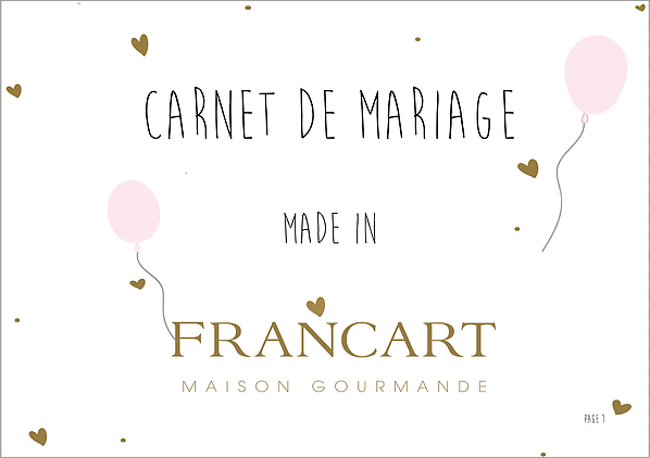 Carnet de Mariage Made In Francart