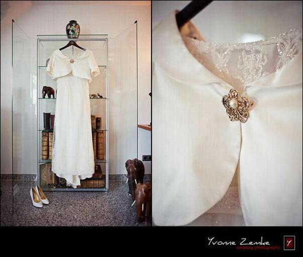 Das Brautkleid wartet schon!