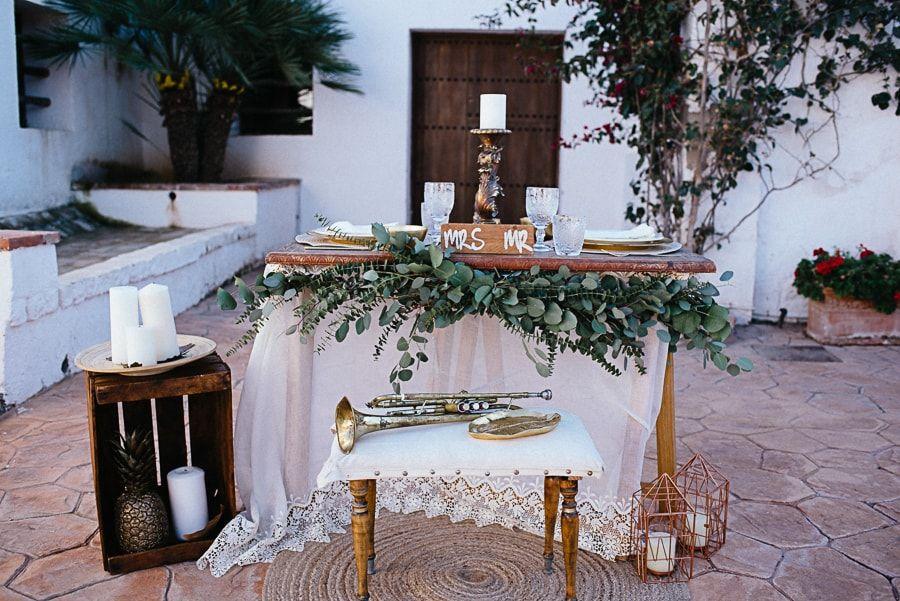 La boda de María