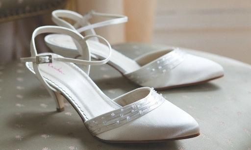 Beispiel: Schuhe für die Elegante Braut, Foto: Eliyzi Couture Accessoires.
