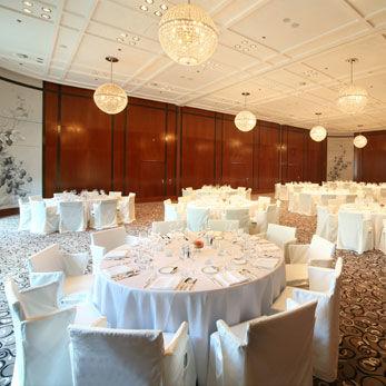 Beispiel: Hochzeitsgedeck, Foto: The Charles Hotel.