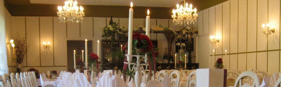 Beispiel: Bankett, Foto: Restaurant Rosenhof.