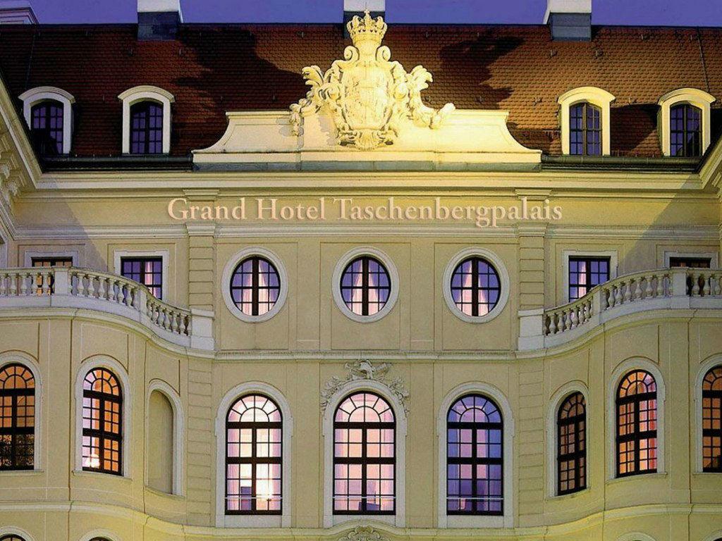Beispiel: Außenansicht, Foto: Hotel Taschenbergpalais Kempinski.