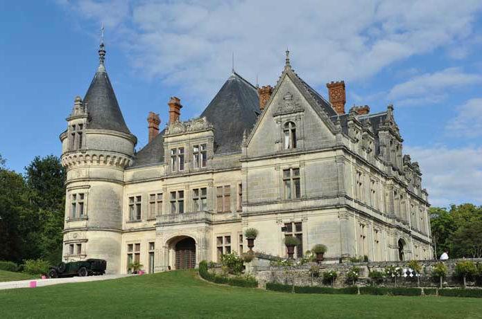 Château en Touraine @ 1001 bulles