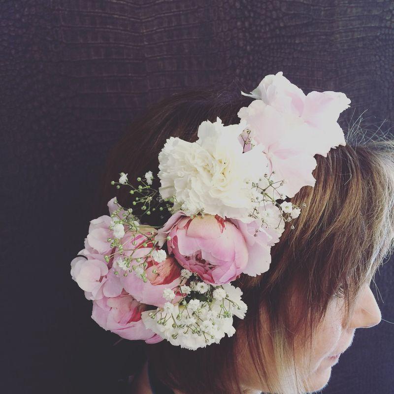 Couronne de fleur Emmanuelle Fabre