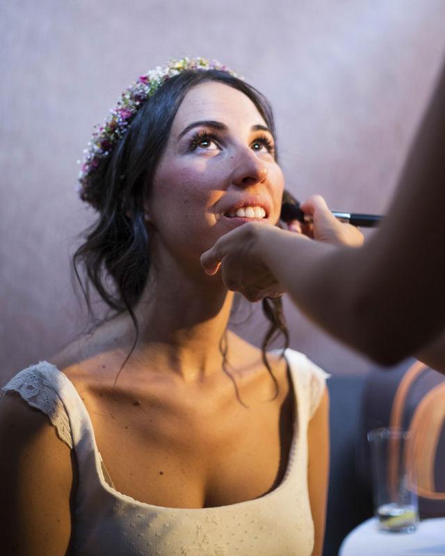 Maquillaje y peluquería de novias, madrinas..