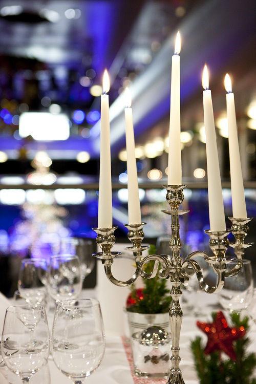 Beispiel: Tischdekoration, Foto: MS Sonnenkönigin.