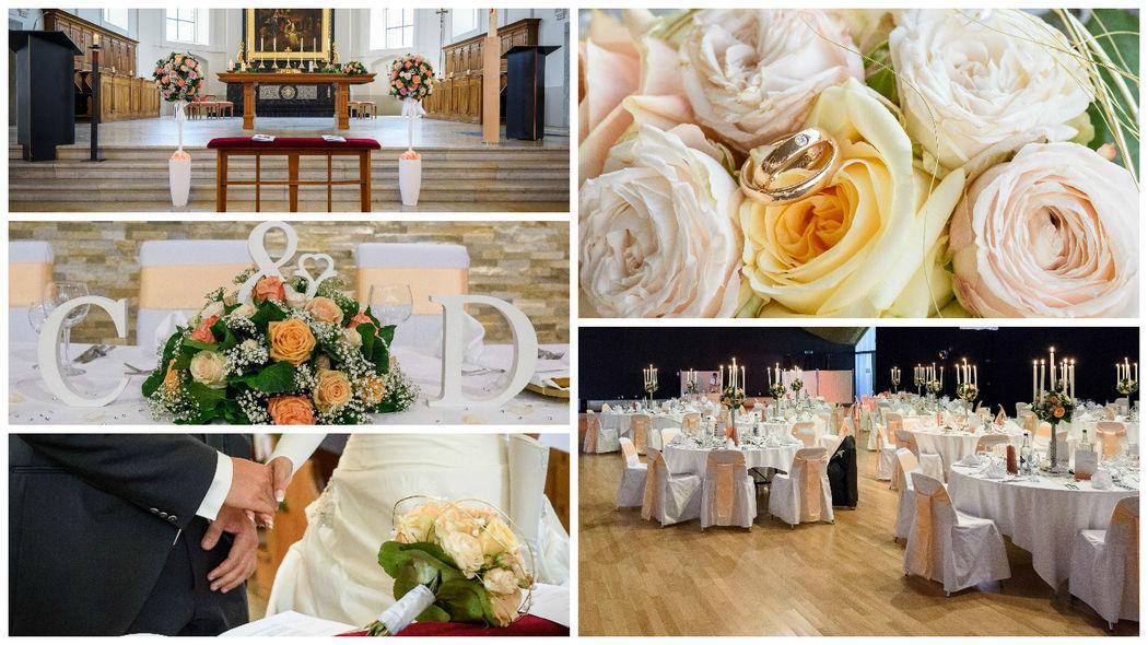 Hochzeit Carolina & Davide, Kath. Kirche Grenchen & Parkhotel Langenthal