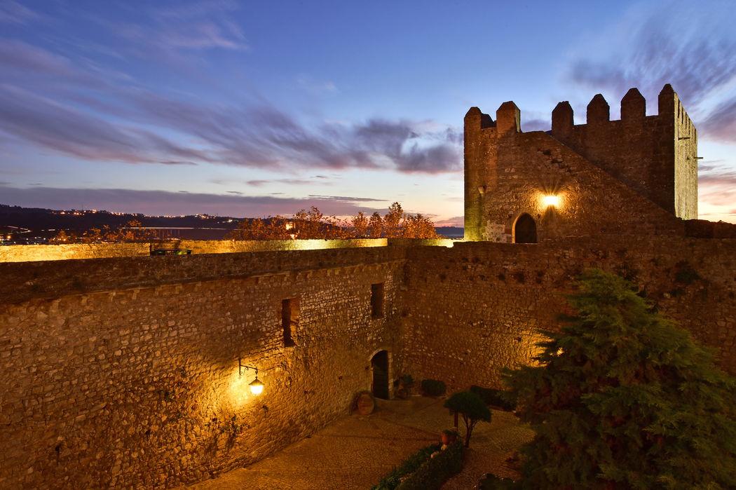 Castelo à noite