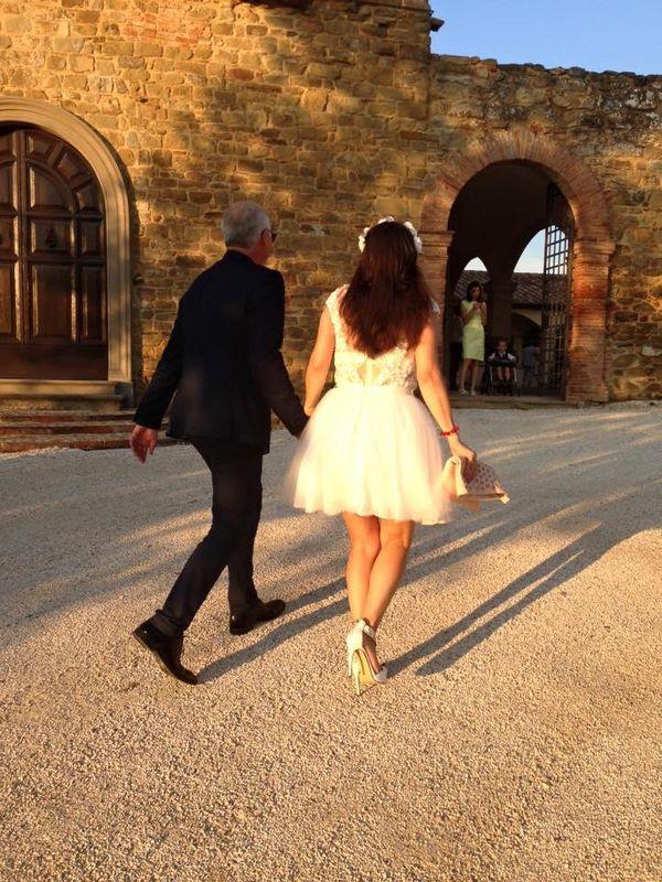 Francesco e Juliette ed il loro matrimonio country