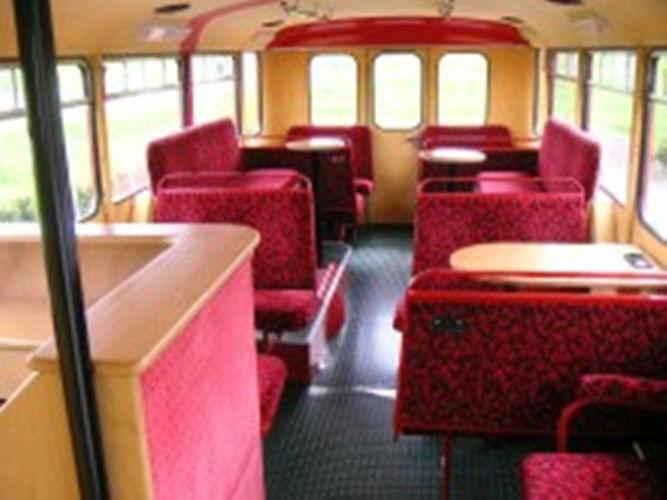 Beispiel: Bus Innenansicht, Foto: Londag.