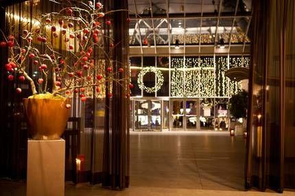 Beispiel: Eingang Atrium, Foto: Schokoladenmuseum.
