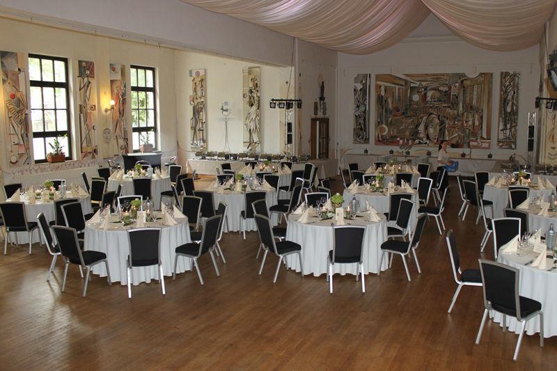 Beispiel: Festsaal Bergmannsheim, Foto: Café Stormwind.