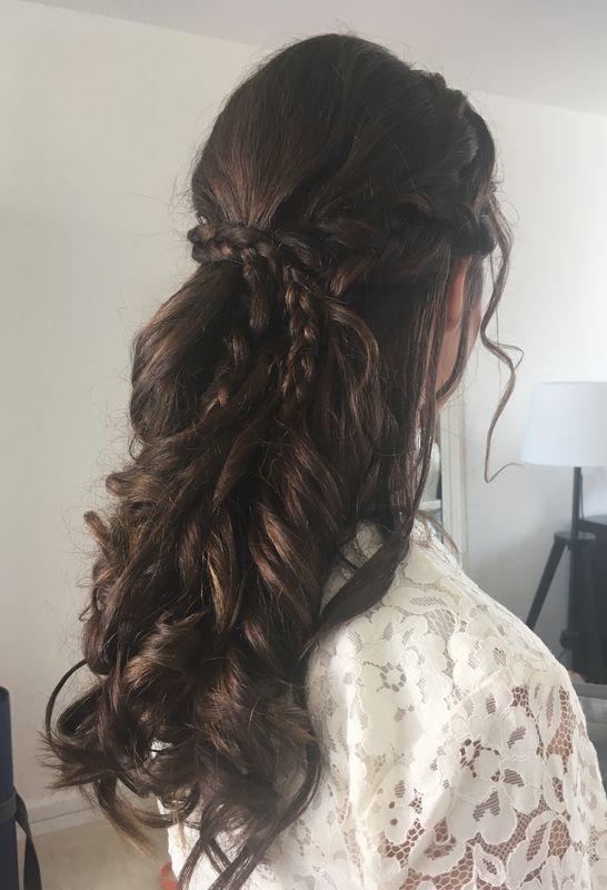 Salima Makeup Hair