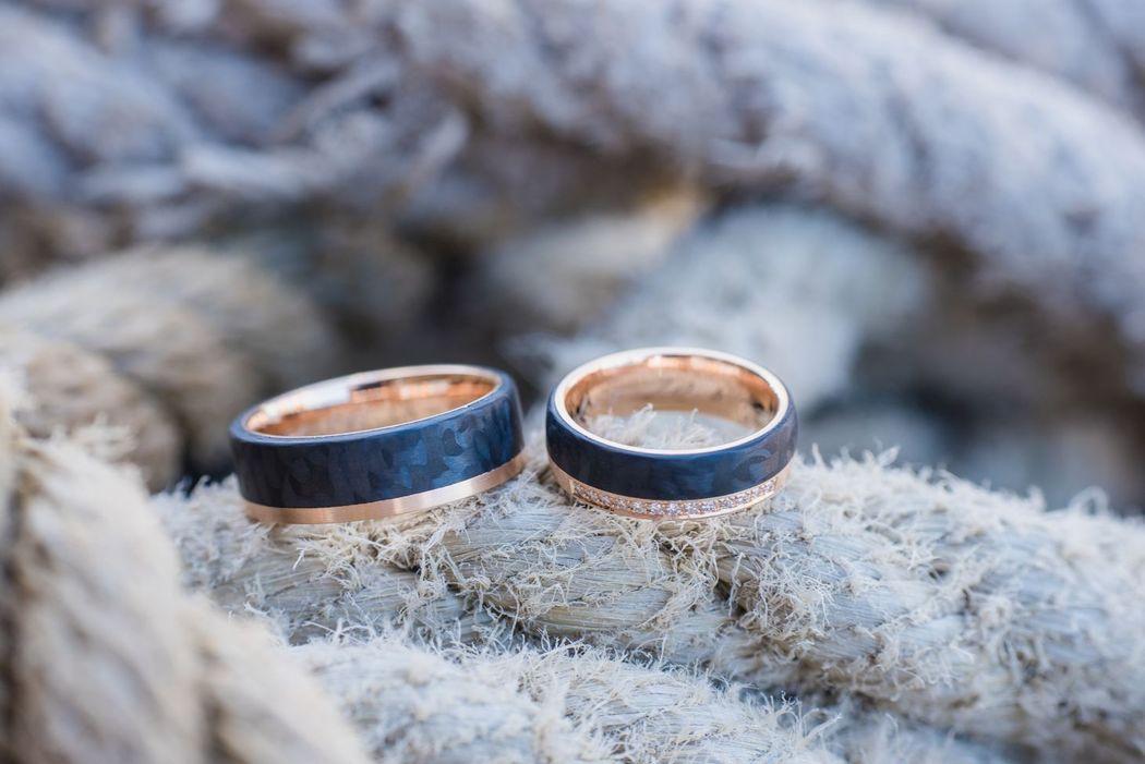 Die Segel Gesetzt... Hochzeit auf einem Segelschiff