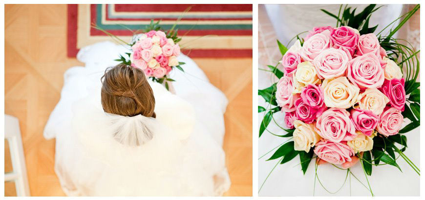 Beispiel: Brautstrauß, Foto: Martina Draper.