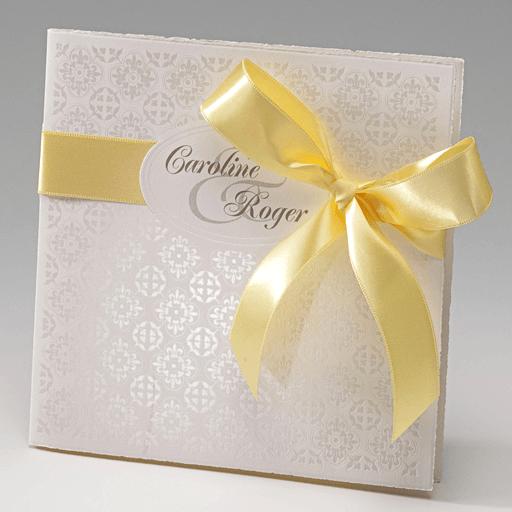 Beispiel: Einladungen zu Ihrer Hochzeit, Foto: Der-hochzeitskartenshop.de.